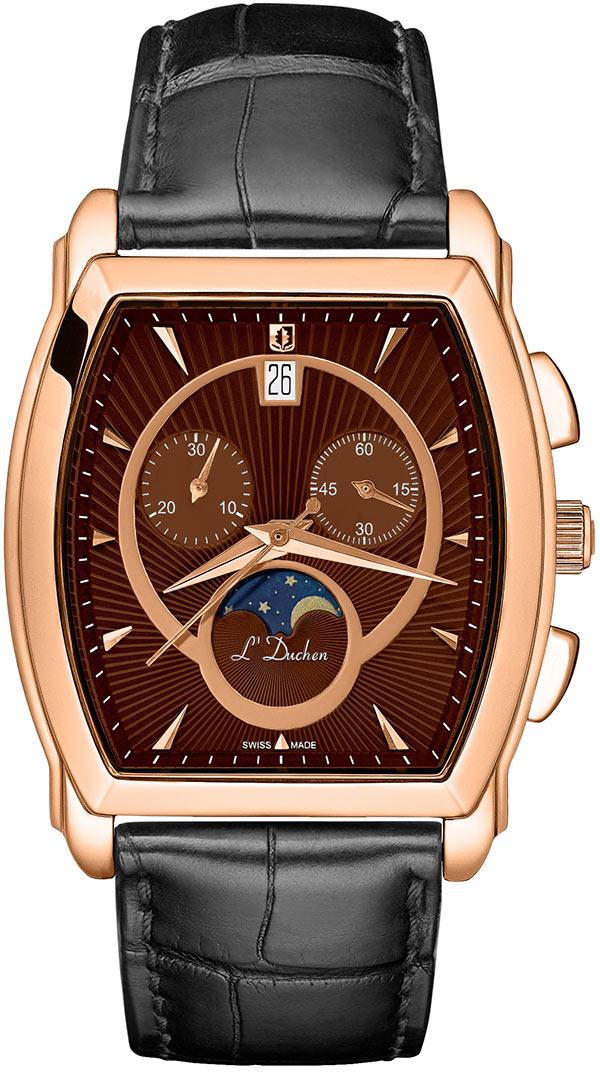 цена Мужские часы L Duchen D337.41.31 онлайн в 2017 году