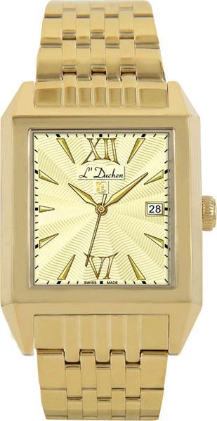 цена Мужские часы L Duchen D431.20.14 онлайн в 2017 году
