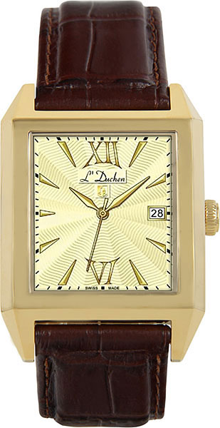 цена Мужские часы L Duchen D431.22.14 онлайн в 2017 году