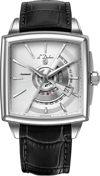цена Мужские часы L Duchen D443.11.33 онлайн в 2017 году