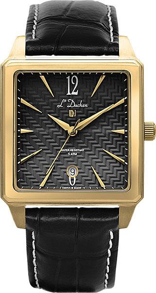цена Мужские часы L Duchen D451.21.21 онлайн в 2017 году