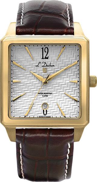 цена Мужские часы L Duchen D451.22.23 онлайн в 2017 году