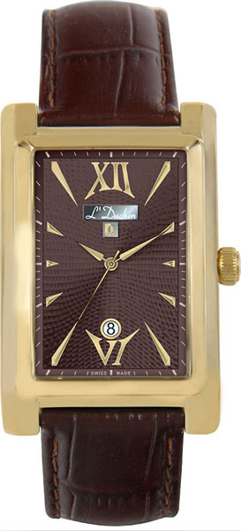 Швейцарские мужские часы в коллекции Le Chercheur Мужские часы L Duchen D531.22.18 фото