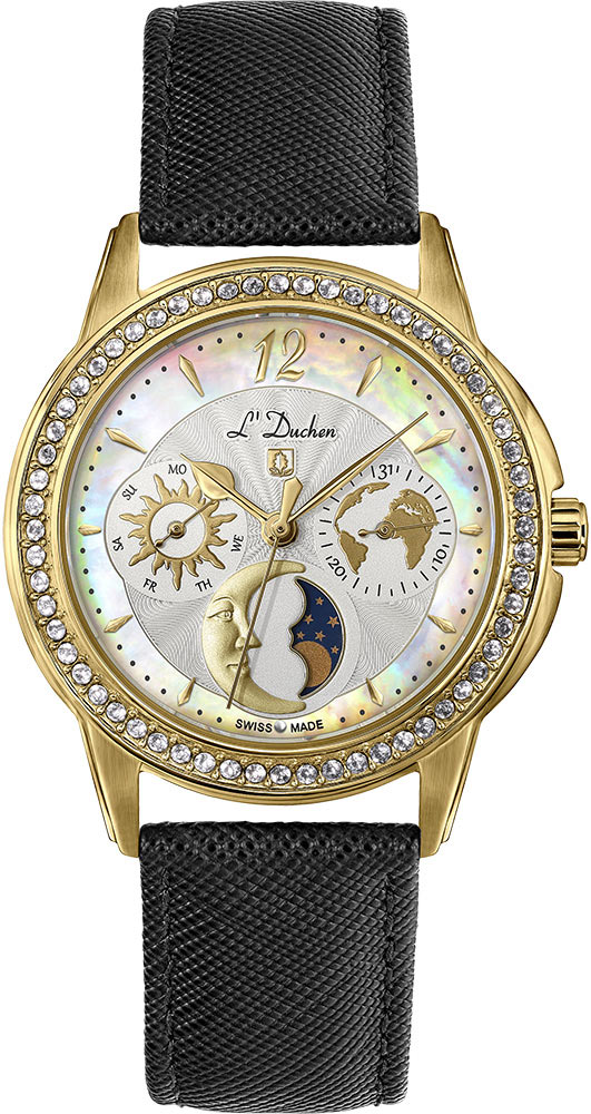 Женские часы L Duchen D737.21.33 все цены