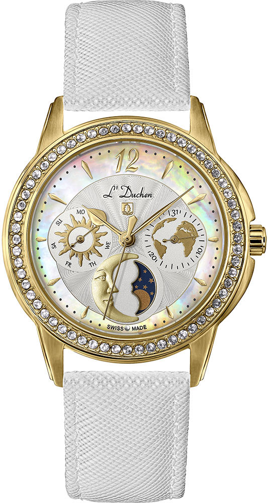 Женские часы L Duchen D737.26.33 все цены