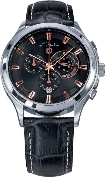 Швейцарские мужские часы в коллекции Chrono / Multifunction Мужские часы L Duchen D742.11.35 фото