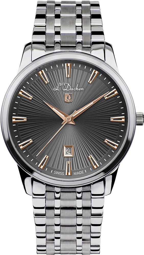 Мужские часы L Duchen D751.10.32 цена 2017