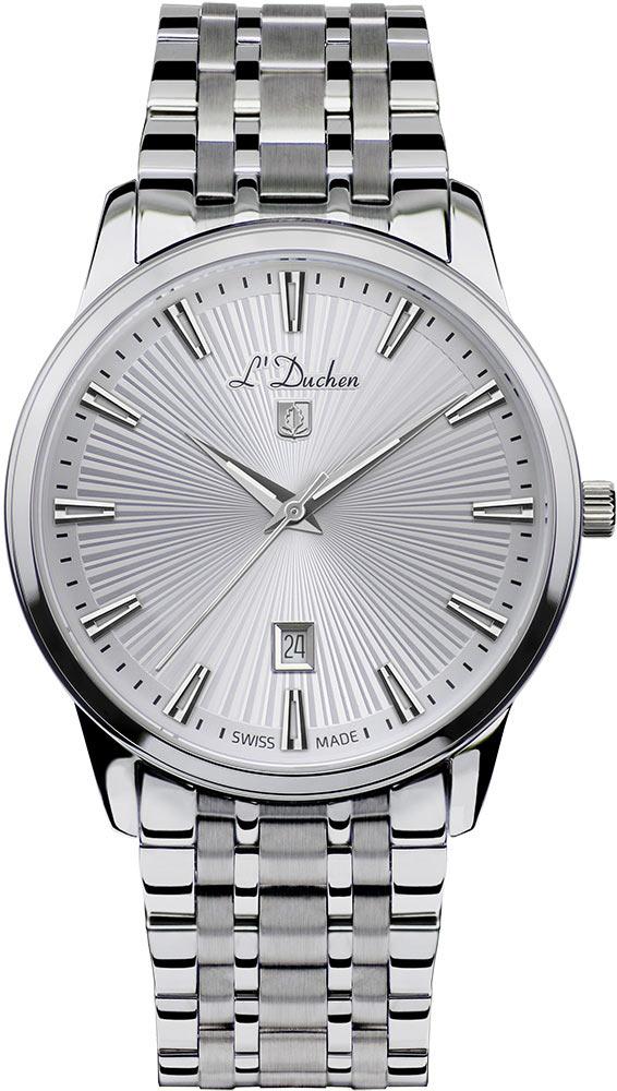 Мужские часы L Duchen D751.10.33 цена 2017