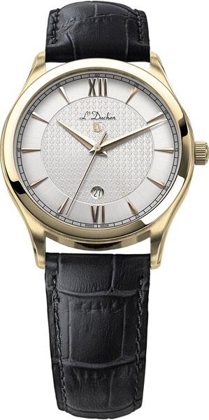 Швейцарские мужские часы в коллекции Quartz Мужские часы L Duchen D761.21.13 фото