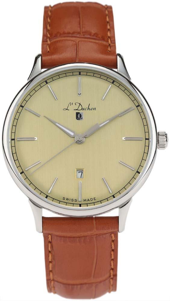 Швейцарские мужские часы в коллекции Vintage Мужские часы L Duchen D821.15.34 фото