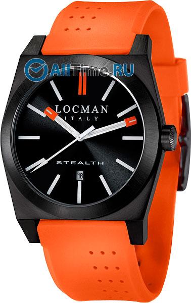 Мужские часы Locman 0201BKBKFOR1GOO