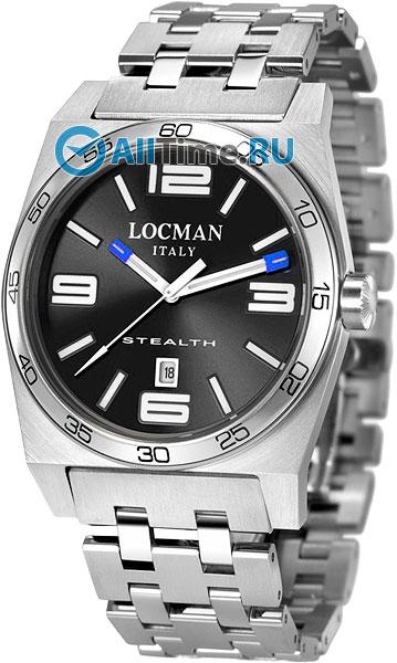 Мужские часы Locman 020800ABKWHSBR0 locman мужские итальянские наручные часы locman 0510bkbkfyl0goy