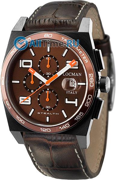 Купить Наручные часы 0209BKNBNWHOPSN  Мужские наручные часы в коллекции Stealth Locman