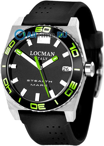 Мужские часы Locman 021100KGBKASIK locman мужские итальянские наручные часы locman 0510bkbkfyl0goy