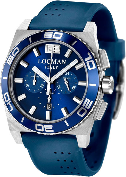 Мужские часы Locman 021200BABLBSIB женские часы locman 0595v1000mkpsa