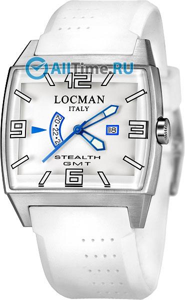 Мужские часы Locman 030000WHFBLKSIW locman мужские итальянские наручные часы locman 0510bkbkfyl0goy
