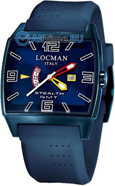 Мужские часы Locman 0300BLBLFYLRSIB locman мужские итальянские наручные часы locman 0510bkbkfyl0goy