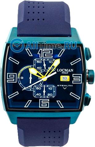 Мужские часы Locman 0301BLBLFYL0SIB locman мужские итальянские наручные часы locman 0510bkbkfyl0goy