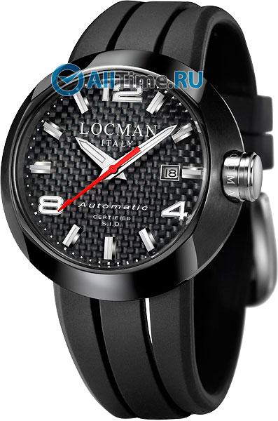 Мужские часы Locman 0425BKCBNNK0SIKRSK locman мужские итальянские наручные часы locman 0510bkbkfyl0goy