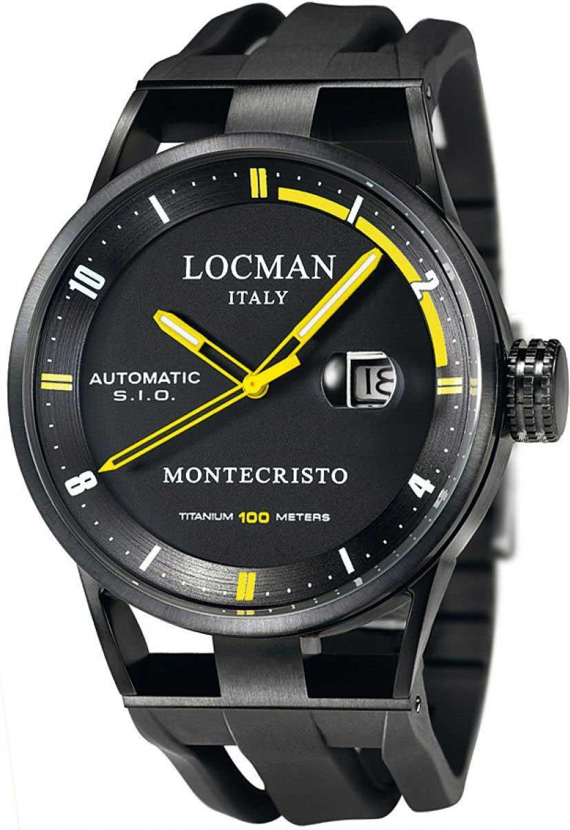 Мужские часы Locman 0511BKBKFYL0GOK locman мужские итальянские наручные часы locman 0510bkbkfyl0goy