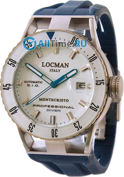 Мужские часы Locman 051300WBWHNKSIB locman мужские итальянские наручные часы locman 0510bkbkfyl0goy