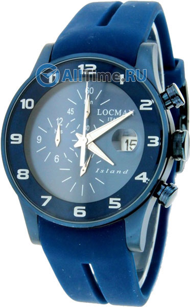 Мужские часы Locman 0620BLBWBLW2SIB locman мужские итальянские наручные часы locman 0510bkbkfyl0goy