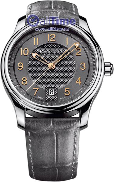 Купить Наручные часы L69267AA03  Мужские наручные швейцарские часы в коллекции Heritage Louis Erard