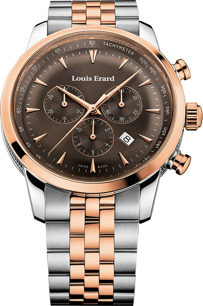 Мужские часы Louis Erard L13900AB16M louis erard часы louis erard 50232 aa02 коллекция excellence