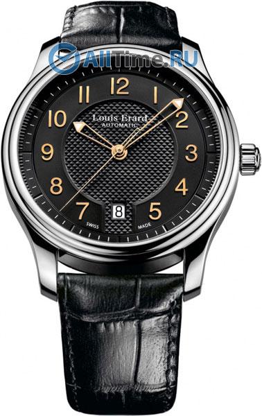 Купить Наручные часы L69267AA02  Мужские наручные швейцарские часы в коллекции Heritage Louis Erard