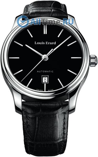 Купить Наручные часы L69267AA12  Мужские наручные швейцарские часы в коллекции Heritage Louis Erard