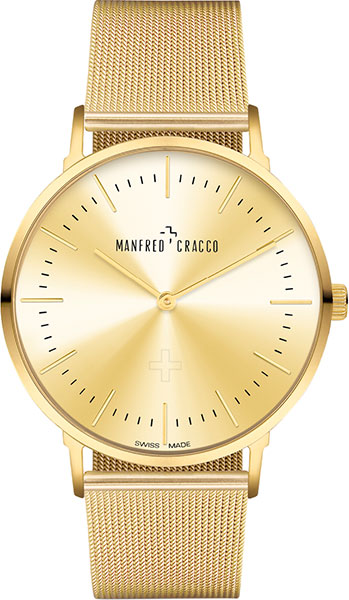 Мужские часы Manfred Cracco 40006GM