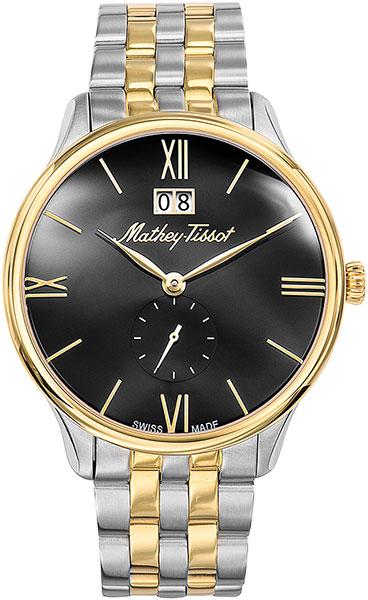 Мужские часы Mathey-Tissot H1886MBN женские часы mathey tissot d1089pi