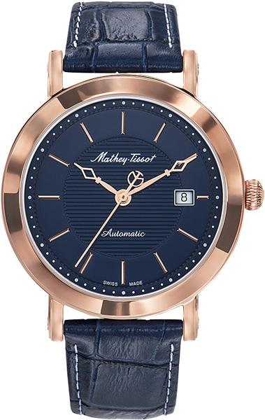 Мужские часы Mathey-Tissot H611251ATPBU женские часы mathey tissot d1089pi