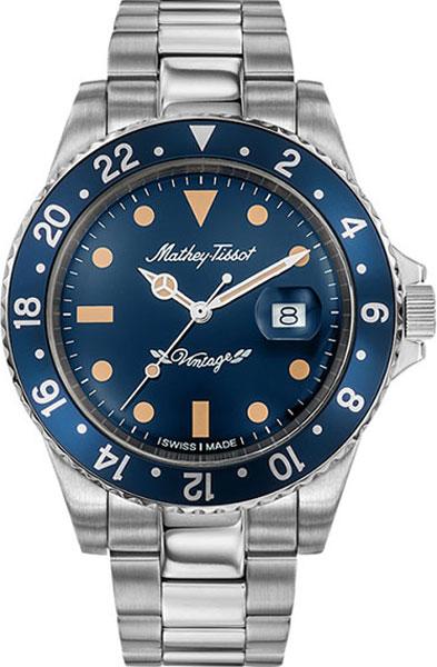 Мужские часы Mathey-Tissot H901MABU женские часы mathey tissot d1089pi