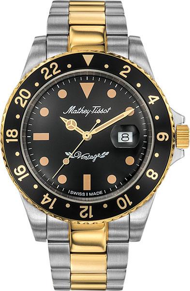 лучшая цена Мужские часы Mathey-Tissot H901MBN