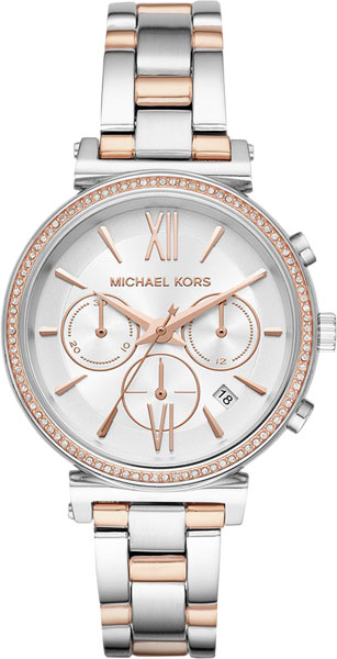 Женские часы Michael Kors MK6558 michael kors kerry crystal pave stainless steel ladies watch mk3359