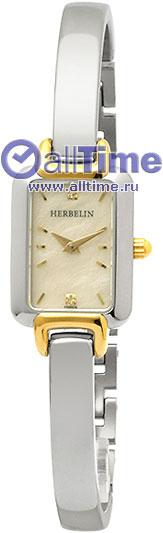 Купить Наручные часы 17404/BT59.SM  Женские наручные швейцарские часы в коллекции Salambo Michel Herbelin