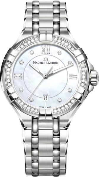 Женские часы Maurice Lacroix AI1004-SD502-170-1 maurice lacroix aikon ai1004 sd502 170 1