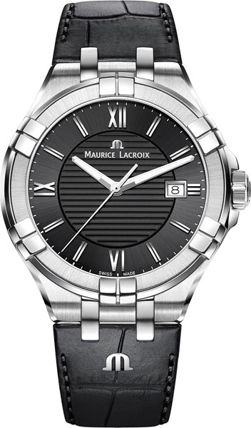 Мужские часы Maurice Lacroix AI1008-SS001-330-1 maurice lacroix masterpiece mp6707 ss001 112