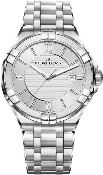 Мужские часы Maurice Lacroix AI1008-SS002-130-1