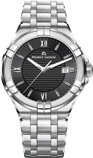 Мужские часы Maurice Lacroix AI1008-SS002-330-1 maurice lacroix часы maurice lacroix pt6158 ss002 73e коллекция pontos
