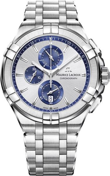 Мужские часы Maurice Lacroix AI1018-SS002-131-1 мужские часы maurice lacroix lc1227 ss001 131 1
