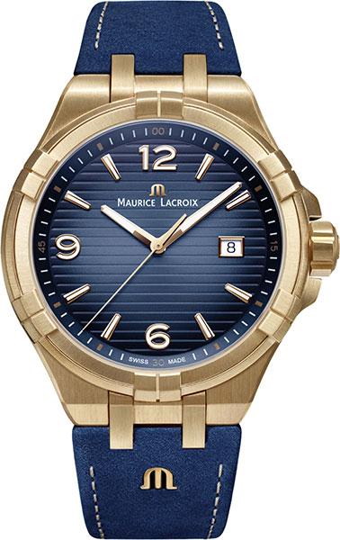 Мужские часы Maurice Lacroix AI1028-BRZ01-420-1