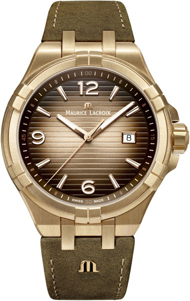 цена на Мужские часы Maurice Lacroix AI1028-BRZ01-720-1