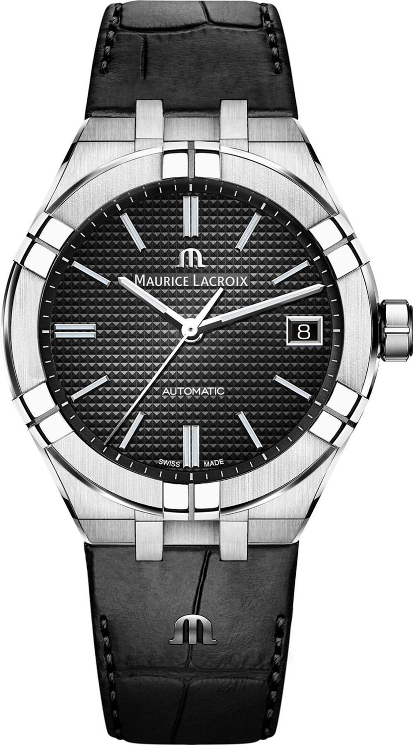 Мужские часы Maurice Lacroix AI6007-SS001-330-1 maurice lacroix masterpiece mp6578 ss001 131 1