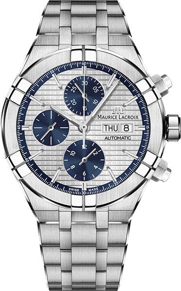 Мужские часы Maurice Lacroix AI6038-SS002-131-1 мужские часы maurice lacroix lc1227 ss001 131 1