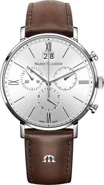 Мужские часы Maurice Lacroix EL1088-SS001-111-2 maurice lacroix les classiques moonphase lc6168 ss001 120 1