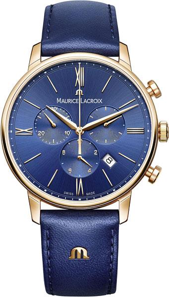 Фото «Швейцарские наручные часы Maurice Lacroix EL1098-PVP01-411-1 с хронографом»