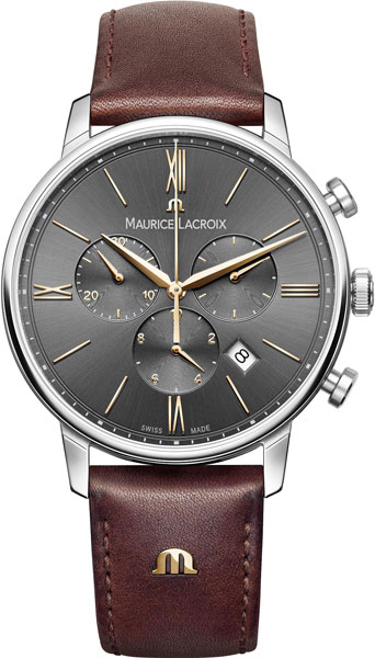 Мужские часы Maurice Lacroix EL1098-SS001-311-1 maurice lacroix lc6067 ss001 110
