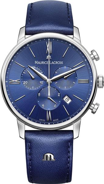 Фото «Швейцарские наручные часы Maurice Lacroix EL1098-SS001-410-1 с хронографом»